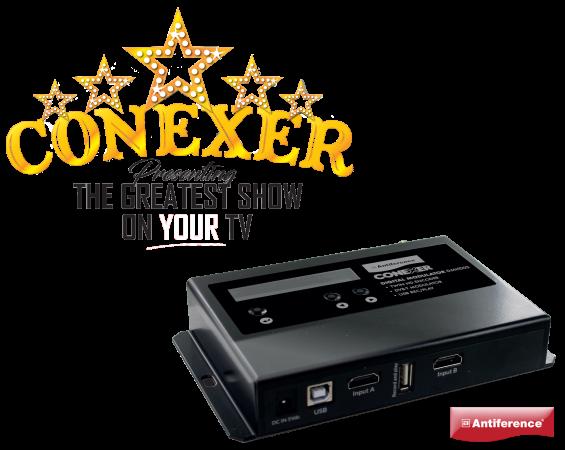 CONEXER DIGITAL MODULATORS