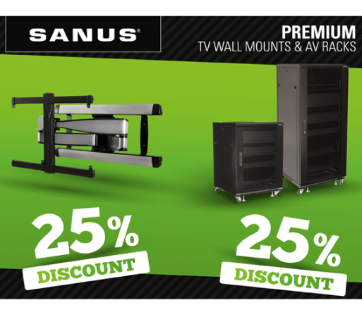 SAVE UP TO 25% WITH SANUS