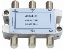 INTERNAL 4-10 F Type Tap (5-2400MHz)