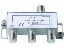INTERNAL 3 Way F Splitter (5-1000MHz)