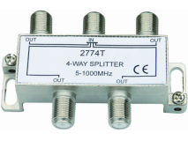 INTERNAL 4 Way F Splitter (5-1000MHz)