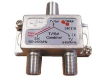 TRIAX Mini F Diplexer VHF/UHF-IF+DC