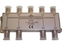 INTERNAL 8 Way F Splitter (5-1000MHz)
