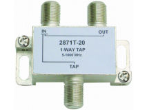 INTERNAL 1-20 F Type Tap (5-1000MHz)