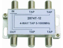 INTERNAL 4-12 F Type Tap (5-1000MHz)