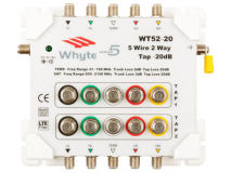 WHYTE Series 5 2 Way 20dB Tap Loss