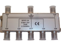 INTERNAL 6-24 F Type Tap (5-1000MHz)