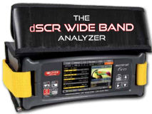 "ROVER 4.3"" HD dSCR Wideband Analyser"
