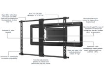"SANUS 40-80"" XL TV Mount"