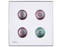 *CLEARANCE* HDL iSense 4 Button Wall Panel