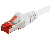 1.5m CAT6 S/FTP LSZH Cu Patch Lead WHITE