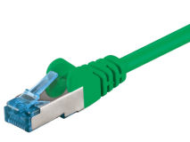 From 0.25m to 20m CAT6a Patch Leads GREEN