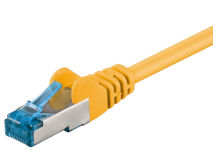 From 0.25m to 20m CAT6a Patch Leads YELLOW
