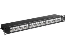 SHIELDED 24 Port CAT6a STP Patch Panel