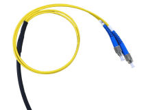 25m GLOBAL FC/PC UG Fibre 2 Core Black