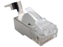 (1) PLATINUM RJ45 CAT6a Plug (Single)