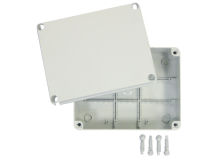 IP56 GREY Moulded Enclosure Box MEDIUM