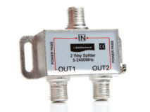 ANTIFERENCE 2 Way F Splitter (5-2400MHz)