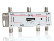 ANTIFERENCE 6 Way F Splitter (5-2400MHz)