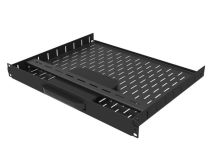PENN-ELCOM Rack 1U Vented Shelf - Roku 4