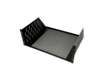 PENN-ELCOM 4U Vented Rack Shelf Black
