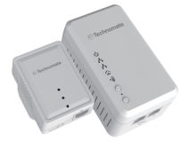 TECHNOMATE 600Mbps Homeplug WIFI Twin Pack