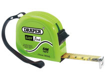 DRAPER 5m/16ft Steel Measuring Tape
