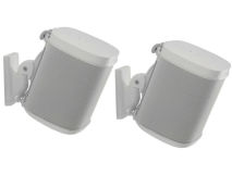 (2) SANUS Wall Mounts for SONOS® White