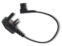 FLEXSON P1-SPC 0.35m R/A Power Cable Black