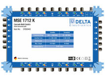 DELTA MSE 1712K CASCADE Multiswitch