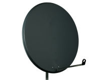 INVERTO 60cm Solid Steel Dish Anthracite