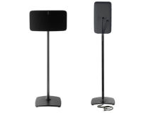 (2) SANUS Floorstand for SONOS® FIVE Black