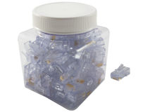 (100) EZ-RJ45® CAT6 Plugs (Jar)