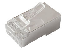 (100) SHIELDED CAT6 RJ45 Plug (Bag)