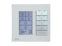 HDL DLP Modern LCD Wall Panel WHITE