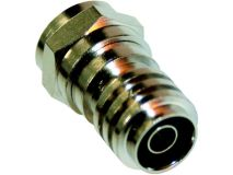 (1) BLAKE Crimp F Plug 0.65mm (Single)