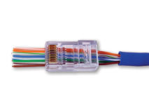 (1) EZ-RJ45® CAT5e Plug (Single)