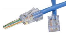 (1) EZ-RJ45® CAT6 Plug (Single)