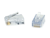 (1) ezEX-RJ45 CAT6a Plug ezEX48 (Single)