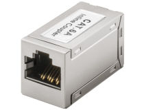 (1) CAT6a Shielded RJ45 - RJ45 COUPLER