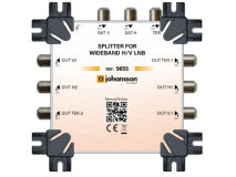 JOHANSSON 2 Way Wideband Splitter