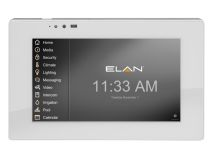 "ELAN® 7"" Wall Mount Touch Panel in White"