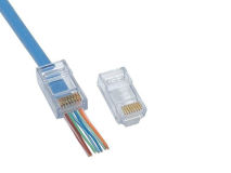 (100) EZ 'COPY' CAT6 RJ45 Plug (Bag)