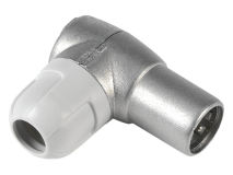 (1) TELEVES Coax Plug Male RIGHT ANGLE