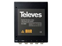 TELEVES Fibre IRS 4 Way Box Splitter