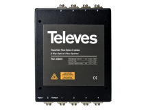TELEVES Fibre IRS 8 Way Box Splitter