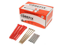 (24) COREFIX Red Problem Wall Fixing 100mm