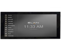 "ELAN® 12"" Interactive Touch Panel in Black"
