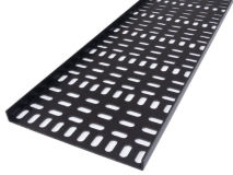 PENN-ELCOM Wide Plastic Cable Tray