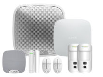 AJAX Wireless Alarm Kit 1 Hub 2 - White